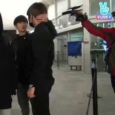 taehyung is reunited with the boys and it feels so good. look how happy jungkook is  #taekook