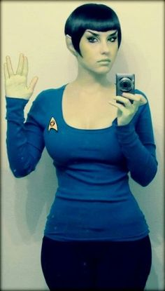 And You Thought Star Trek Was Just For Nerds! 32 Of The Hottest Trekkie Cosplay Girls Comic Con Cosplay, Best Cosplay, Cosplay Costumes, Female Cosplay, Star Trek Rpg, Star Trek Uniforms, Star Trek Cosplay, Star Trek Characters, Star Trek Universe
