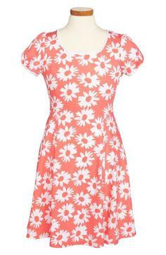 Soprano 'Scuba' Dress (Little Girls & Big Girls) | Nordstrom
