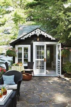 little guest cottage