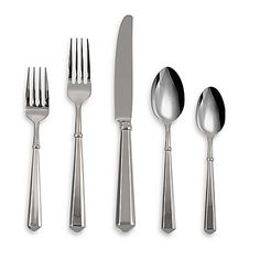 Kate Spade New York Todd Hill Flatware Set Stainless Steel - kate spade new york's signature style translates classics with intelligence, wit and inspiration. Each piece in the Todd Hill flatware set has substantial yet comfortable weight. The Todd, Table Place Settings, Sterling Silver Flatware, Gold Wash, Stainless Steel Flatware, Flatware Set, Fine China, Bedding Shop, Dinnerware