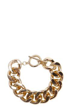 Hannah Chain Bracelet at boohoo.com