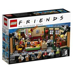 LEGO Releases Friends Set in Honor of Sitcom's Anniversary — and It Includes Gunther! — People LEGO Releases Friends Set in Honor of Sitcom's Anniversary — and It Includes Gunther! Tv: Friends, Friends Tv Show Gifts, Lego Friends Sets, Friends Moments, Friends Series, Friends Merchandise Tv Show, Friends Cake, Ross Geller, Joey Tribbiani