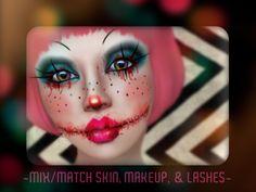 Go Back > Gallery For Creepy Girl Clown Makeup Girl Clown Makeup, Creepy Clown Makeup, Scary Clowns, Halloween Face Makeup, Zombie Makeup, Clown Halloween Costumes, Crazy Costumes, Halloween Make Up, Halloween Ideas