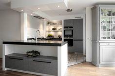 40 beste afbeeldingen van moderne grijze keukens middelkoop keukens