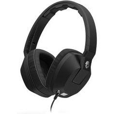 Skullcandy - Crusher Over-Ear Headphones with In-Line in Black