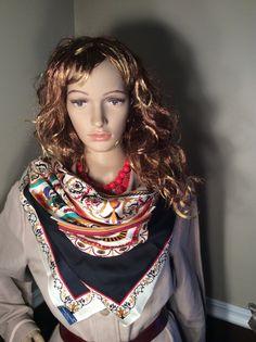 Vintage Ginnie Johansen Inc. 1987 Silk by Stylishiddentreasure