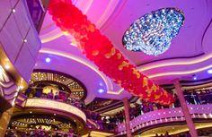 La mia crociera inaugurale a bordo di Majestic Princess Princess Cruises, Birthday Candles