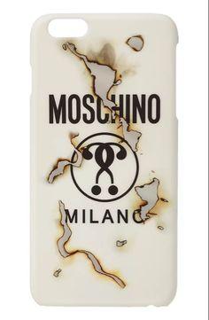 Coque Moschino de marque de luxe pour iPhone en 2016 6s 6s plus rigide achat sur lelinker.fr