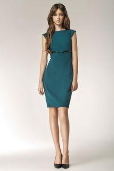 Sukienka Model S36 Green Nife #modadamska  #sukienkiletnie #sukienka #suknia