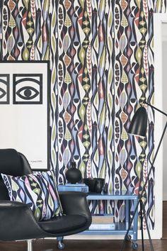 Boråstapeter and Ljungbergs Textil designer  Stig Lindberg