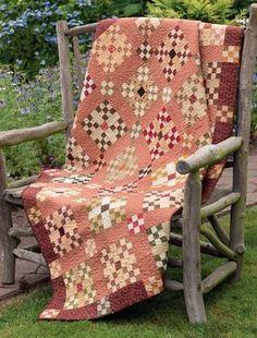 Civil War Remembered: 19 Quilts Using Reproduction Fabrics Primitive Quilts, Amish Quilts, Antique Quilts, Scrappy Quilts, Vintage Quilts, Vintage Sewing, Nine Patch Quilt, Civil War Quilts, Country Quilts