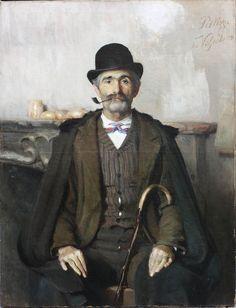 Giuseppe Pellizza da Volpedo  Il mediatore Giuseppe Giani, 1891