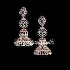 Jewelry Boards, Ear Rings, Diamond Jewelry, Studs, Diamond Earrings, Jewelry Design, Jewellery, Blouse, Beautiful