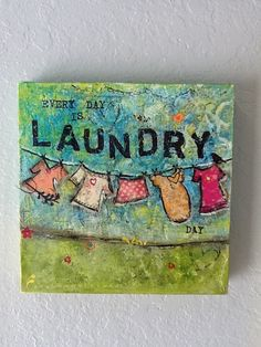 How to Make Cute Home Decor for Laundry Room