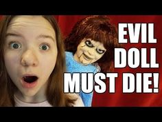 EVIL DOLL WORLD Challenge Game! Creepy Clown Chronicles Watch 6 newly introduced episodes of the Evil Doll series, and search for 6 new Mystery I. Clown Scare, Creepy Clown, Scary, Challenge Games, Challenges, Dolls, Youtube, Baby Dolls, Doll