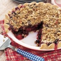 Deep-Dish Winter Fruit Pie with Walnut Crumb | Recipe