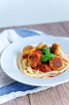 RECEPT: Ört- och fetaost-bollar i tomatsås | atilio | Bloglovin'