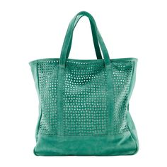 Perforated Leather Bag by Avril Gau for La Redoute