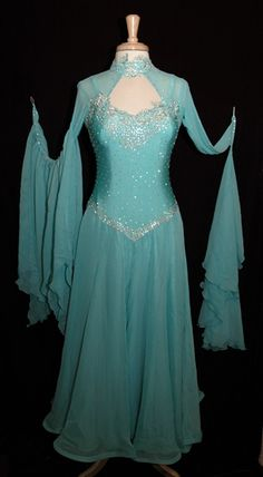 Chiffon Ballroom Dress