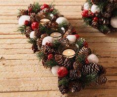 Classy Christmas, Christmas Gift Box, Christmas Design, Homemade Christmas, Christmas Holidays, Christmas Wreaths, Christmas Crafts, Christmas Ornaments, Natural Christmas