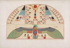 Lo Spirito di Chnuphis [Khnum]: quadro tratto dalle tombe di Biban-el-Moluk.