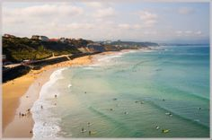 The exclusive seaside town of Biarritz hosts yearly world-class surf competitions. Biarritz prices can be high, and tourist crowds can swell like the Atlantic breakers that pound the Basque region in south-western France. Long-boarders tend to favor the slower break on Ilbarritz Beach. Grand Plage is the main beach in town, and the city Biarritz is a metropolitan hub with museums, shops and high-end restaurants.    http://www.vagabuzz.com/surfeurope