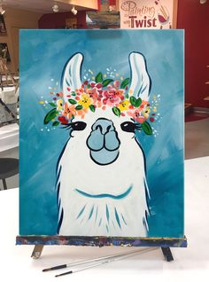 New painting art diy creative Ideas Cute Canvas Paintings, Mini Canvas Art, Easy Canvas Painting, Diy Canvas, Diy Painting, Painting & Drawing, Image Painting, Easy Acrylic Paintings, Cute Easy Paintings