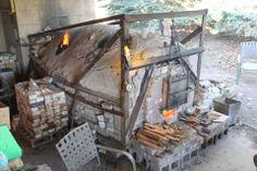 Kent State U. wood-fired kiln, OH Ryan Thomas Osborne photo. Ryan Thomas, Pottery Kiln, Wood Kiln, Firewood, Building, Outdoor Decor, Design, Home Decor, Woodburning