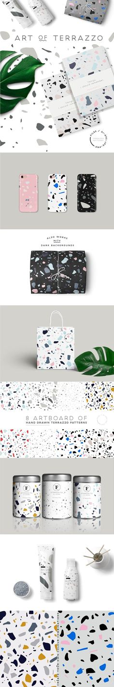 Here is my new product Terrazzo Patterns. They are all hand crafted and unique patterns. You can create modern an beautiful design products like packaging, New Look Patterns, Simplicity Patterns, Cool Patterns, Textures Patterns, Design Patterns, Web Design, Graphic Design Pattern, Graphic Patterns, Business Illustration