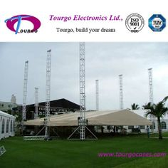 Ourdoor event stage truss