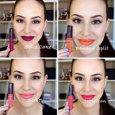 NYX Intense Butter Gloss + Lip Swatches - Beauty with Emily Fox Nyx Makeup, Makeup To Buy, Skin Makeup, Beauty Makeup, Nyx Gloss, Nyx Butter Gloss, Nyx Matte, Matte Lips, Nyx Lipstick