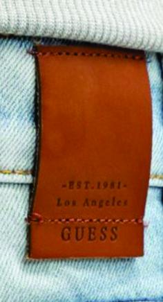 etiqueta de cintura para jean grabada.