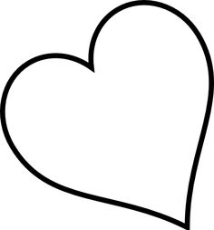 heart outline clip art small red heart black and white only clip rh pinterest com Heart Scroll Clip Art Free Tree Clip Art Black and White