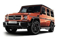 メルセデスAMG、Gクラス特別仕様車に通常設定の無い全5色「G63 クレイジーカラーリミテッド」を50台限定発売 - グノシー