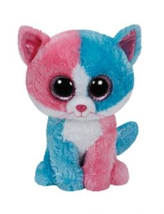 Patchwork Cat 8 Inch Beanie Boo   Justice