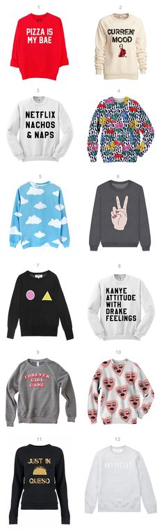 12 Sweatshirts You Need to Cozy Up In