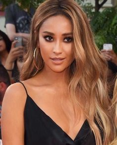 Shay Mitchell Inspiration Tan Skin Hair Colortanned Blonde
