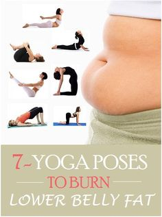 7 Yoga poses to burn lower belly fat More More