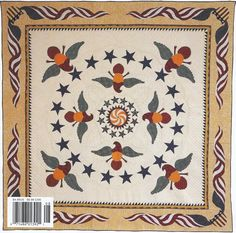 Freedom by Gerry Sweem Cover of Quilter's Newsletter Magazine July/August 2002 (94 x 94)