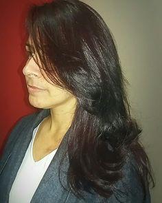 #haircut  #escovadeBotox (Portier)