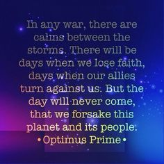 Image result for optimus prime quotes