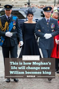 This is how Meghan's life will change once William becomes king. She'll take on new duties. Princess Margaret, Princess Of Wales, Princess Diana, Kate Middleton Parents, Prince Harry Ex, The Queens Children, Doria Ragland, Prince Charles And Diana, Unhappy Marriage
