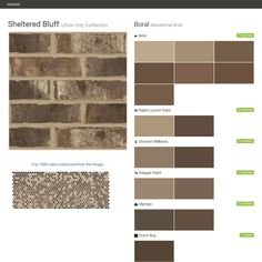 I just created this color palette with the sherwin for Valspar color visualizer