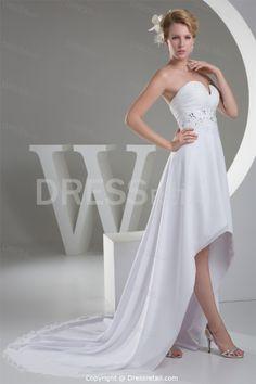 <3 <3 <3  pear shaped wedding dresses | ... Line Pear Sweetheart Asymmetrical Wedding Dress -Wedding Dresses