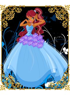 Aisha in full bloom atire Winx Club, Club Outfits, Club Dresses, Flora, Les Winx, Pixie, Cool Animations, Club Style, Cosplay Outfits