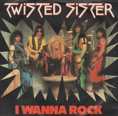 Twisted Sister 45 RPM Cover