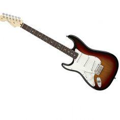 American Deluxe Stratocaster® Left Handed, Rosewood Fingerboard, 3-Color Sunburst