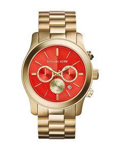 Michael Kors Stainless Steel Watch $275 #jewelry #holidaygifts