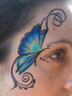 Peacock Butterfly eye